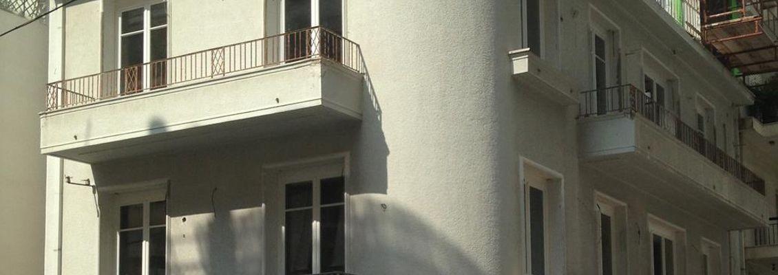Ενίσχυση Κτιρίου Κατοικιών και Μετατροπή του σε Πολυτελή Κατοικία με Προσθήκη Κολυμβητικής Δεξαμενής