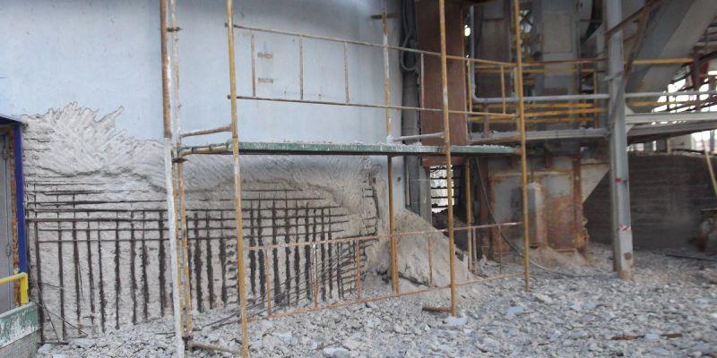 Αποκατάσταση Βιομηχανικών Σιλό Σκυροδέματος
