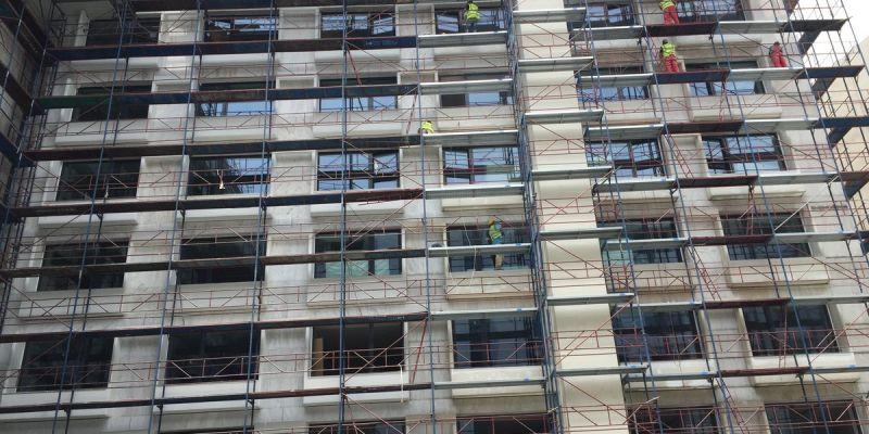 Αποκατάσταση Μαρμάρινων Όψεων Ξενοδοχείου Grand Hyatt Athens