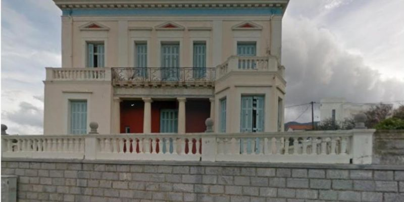 Collapse Prevention Works for Voyiatzidis Mansion in Andros Town