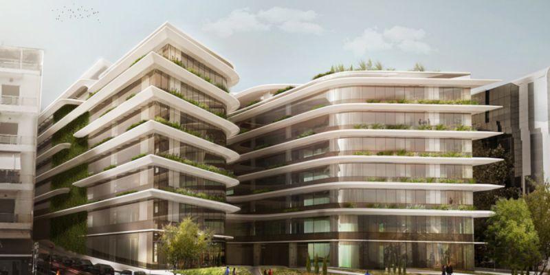 "Non-Vibrating Concrete Cutting at ""THE ORBIT"" Office Building Complex"