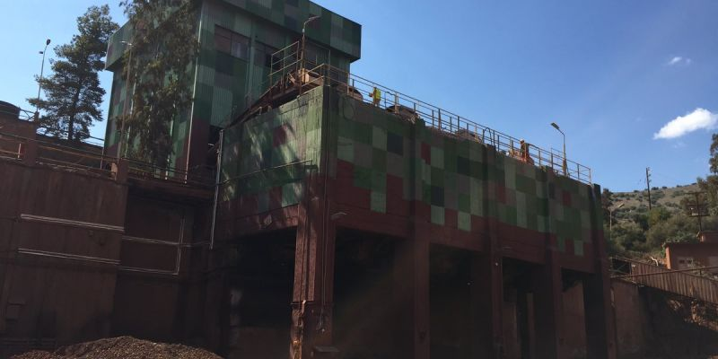 Restoration and Strengthening of Ore Dressing Silo