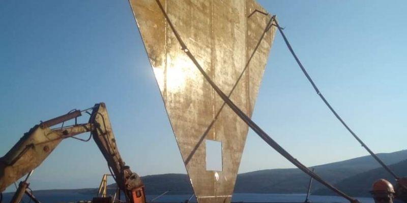 Επισκευή Σιλό Γέφυρας Φόρτωσης Πλοίων