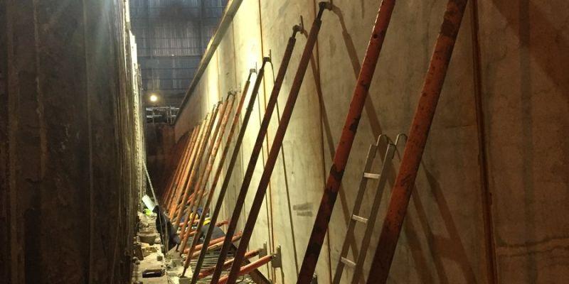 Ανακατασκευή Εσωτερικών Τοιχείων Βιομηχανικού Φούρνου με Προκατασκευασμένα Στοιχεία
